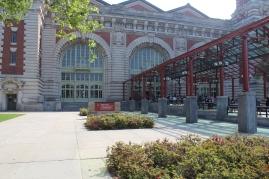 The entry to Ellis Island.