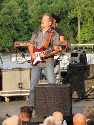 Guitar shredster, Steve Grisham.