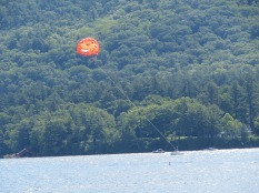 Parasailing is big here as well.