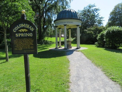 Columbia Spring in Congress Park.