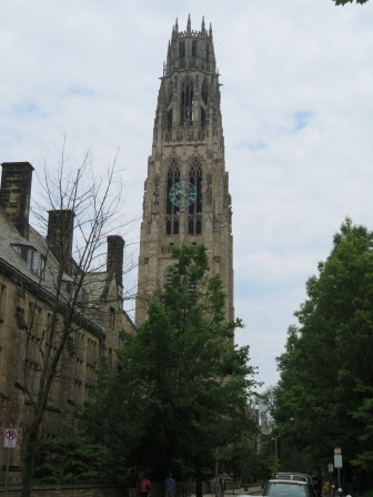 Harkness Tower at Yale.