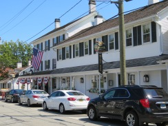 The historic Griswold Inn in downtown Essex.