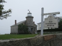 The Stonington Lighthouse.