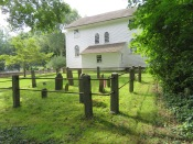 The back yard of the Old Narragansett Church.