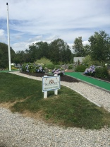Mini golf course at Seaport RV.