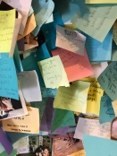 We left our message for Maddie with the thousands of others.