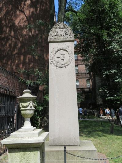 Memorial to John Hancock.
