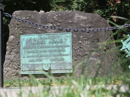 Sam Adams' final resting place.
