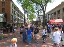 The Quincy Market. If you are a foodie, this is the place to be!