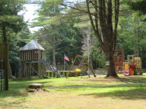 Kid's play area at the park.