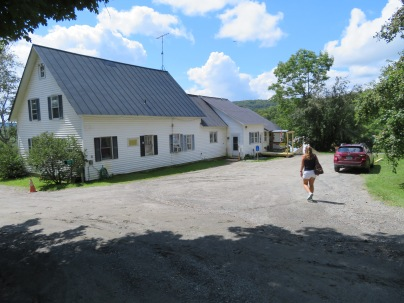 Sugarbush Farm. Fun little nothing back roads, some gravel, some paved, just to get here.