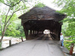 The Albany Covered Bridge.