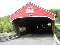 The Bath Covered Bridge.