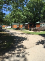 Yes, they have the typical KOA cabins for rent too...