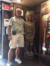 Me and my buddy, Tecumseh!