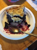 Blueberry pie should be illegal. Oh my...