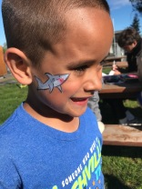 Nothing like a little face painting...