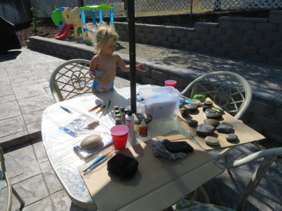 Hailey the rock artist...